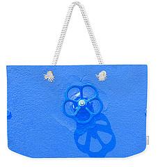 Handwheel - Blue Weekender Tote Bag