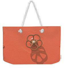Handwheel - Orange Weekender Tote Bag