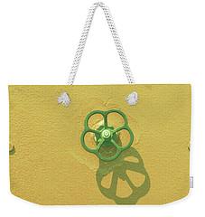 Handwheel - Yellow Weekender Tote Bag