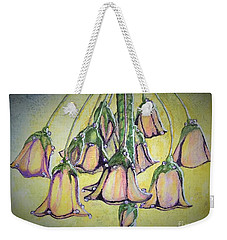 Hanging Bell Flower Weekender Tote Bag