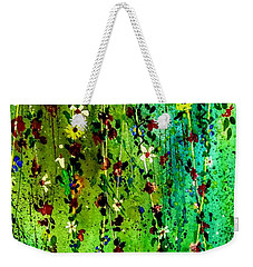 Hanging Bouquet Three Weekender Tote Bag