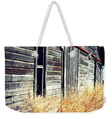Hanging By A Bolt Weekender Tote Bag by Julie Hamilton