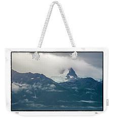 Hanging Glacier Weekender Tote Bag
