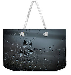 Weekender Tote Bag featuring the photograph Hanging by Ian Thompson