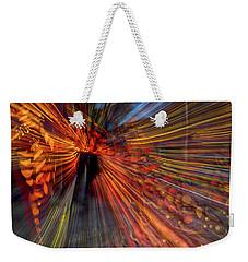Hanging Lamp Abstract Weekender Tote Bag