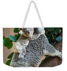 Hanging On Weekender Tote Bag by Jamie Pham