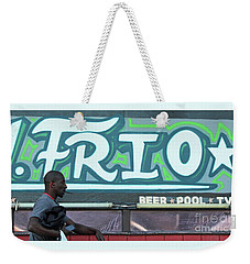 Weekender Tote Bag featuring the photograph Hanging Out On Frio Street by Joe Jake Pratt