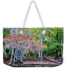 Hanging Rust Weekender Tote Bag by Lana Trussell