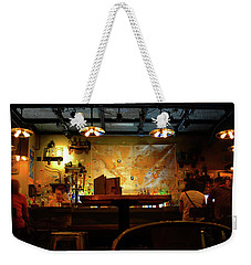 Weekender Tote Bag featuring the photograph Hanging With Jock by David Lee Thompson