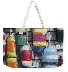 Hanging With The Buoys Weekender Tote Bag