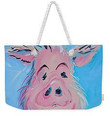 Hank Weekender Tote Bag by Terri Einer
