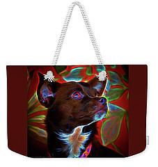 Hannah, Electrified Weekender Tote Bag