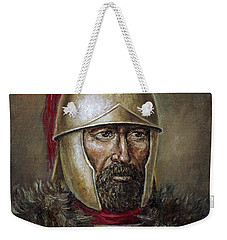Hannibal Barca Weekender Tote Bag by Arturas Slapsys