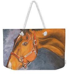 Hanoverian Warmblood Sport Horse Weekender Tote Bag