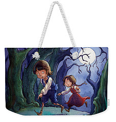 Hansel And Gretel Pebbles Weekender Tote Bag
