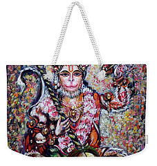 Hanuman - Ecstatic Joy In Rama Kirtan Weekender Tote Bag