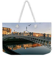 Ha'penny Bridge Weekender Tote Bag