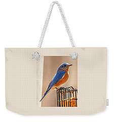 Happiness In Blue Weekender Tote Bag