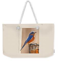 Happiness In Blue Weekender Tote Bag