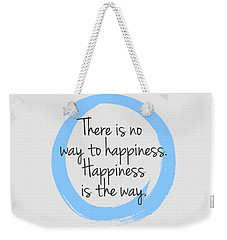 Weekender Tote Bag featuring the digital art Happiness by Julie Niemela