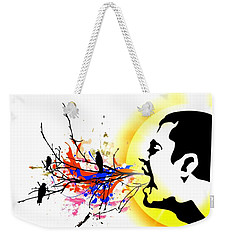 Happiness Must Be Born Within Us 1 Weekender Tote Bag by Paulo Zerbato