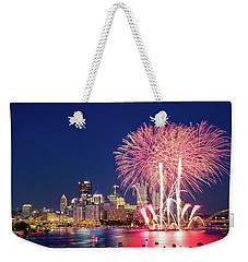 Happy 4th  Weekender Tote Bag