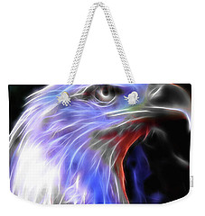 Weekender Tote Bag featuring the photograph Happy 4th Of July by Elaine Malott