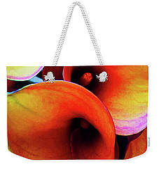 Weekender Tote Bag featuring the photograph Happy Accident by Jessica Manelis