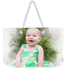 Happy Baby Weekender Tote Bag