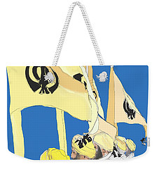 Happy Baisakhi Abstractart  Weekender Tote Bag
