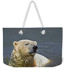 Happy Bear Weekender Tote Bag