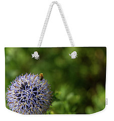 Happy Bee Weekender Tote Bag by Lora Lee Chapman