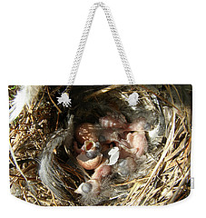 Weekender Tote Bag featuring the photograph Happy Birthday by Angie Rea