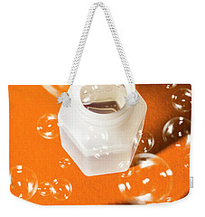 Happy Birthday Bubbles Weekender Tote Bag