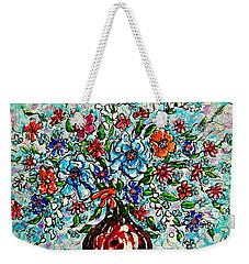 Happy Bouquet Weekender Tote Bag