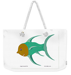 Happy Carnival Fish Weekender Tote Bag