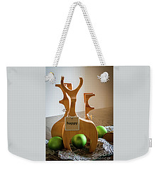 Happy Weekender Tote Bag