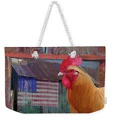 Happy Chicken  Weekender Tote Bag