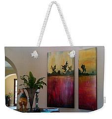 Happy Couple Weekender Tote Bag by Heather Roddy