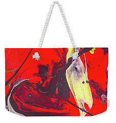 Happy Cow -  Cute Abstract Animals Art Weekender Tote Bag