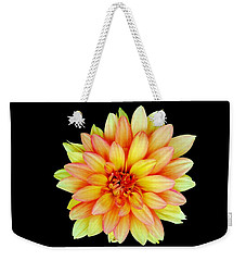 Happy Dahlia Weekender Tote Bag