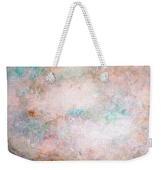 Happy Dancing Clouds Weekender Tote Bag by Natalie Holland