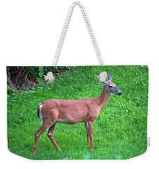 Happy Deer Weekender Tote Bag by Jeff Severson