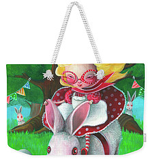 Happy Easter Weekender Tote Bag