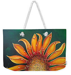 Happy Flower Weekender Tote Bag