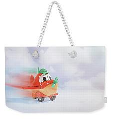 Happy Flying Weekender Tote Bag