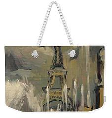 Happy Fountains At Trocadero Weekender Tote Bag