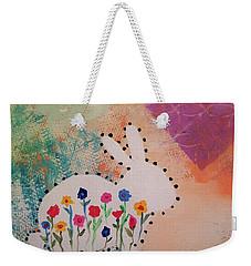 Happy Garden Weekender Tote Bag