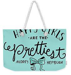 Happy Girls  Weekender Tote Bag by Elizabeth Taylor