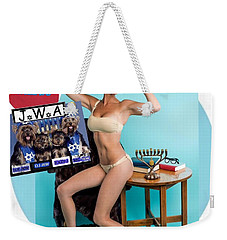 Weekender Tote Bag featuring the photograph Happy Hanukkah 4 by Lisa Piper